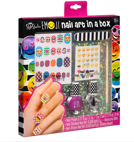 Emoji Nail Art in a Box