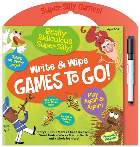 Write and Wipe Games To Go