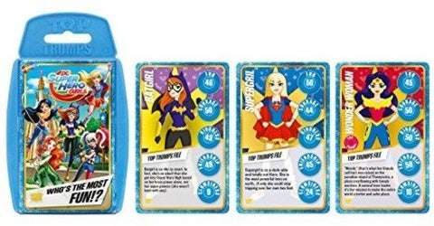 DC Superheros Girls Top Trumps