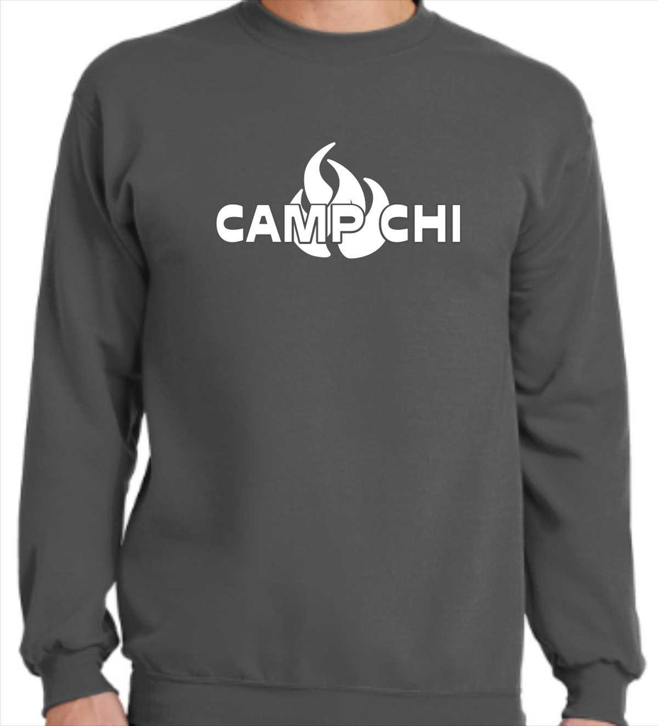 Flame Crew Neck Sweatshirt