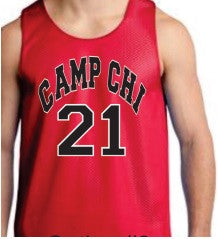 Camp Chi Reversible Basketball Jesrey