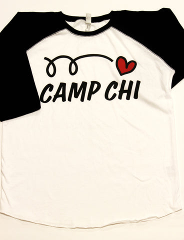 Love Camp Chi Baseball T