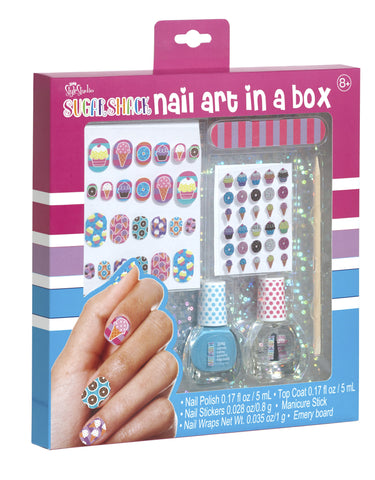 Sugar Shack Nail Art in a Box