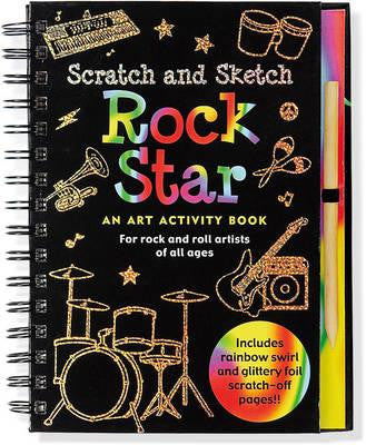 Scratch & Sketch Rock Star