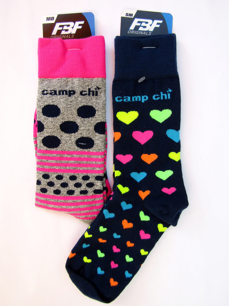 Camp Chi Colorful Socks
