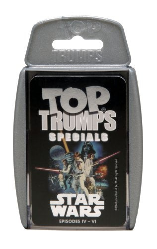 Star Wars Episode 4 - 6 Top Trumps