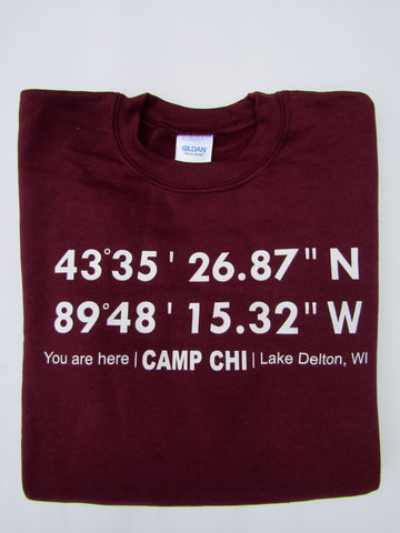 Camp Chi GPS Sweatshirt