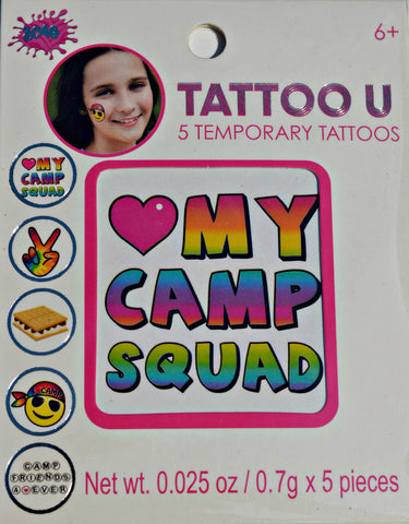 Funky Camp Tattoos