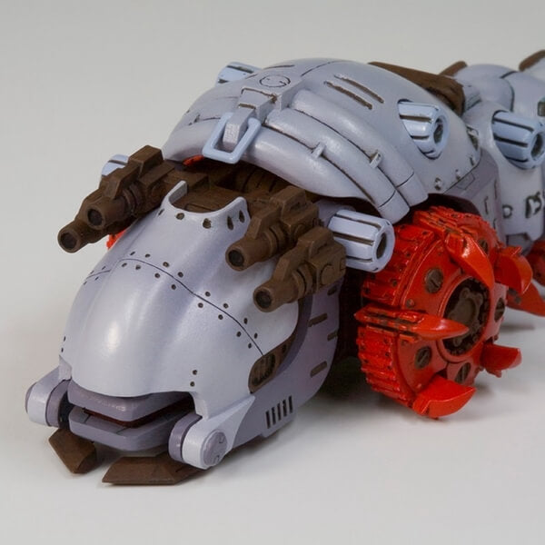Zoids Molga And Molga With Canory Unit Fine Scale Model Kit