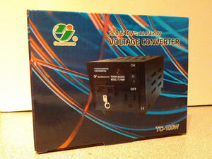 Voltage Up/Down Converter TC-100W (220/240V<=>110/120V)