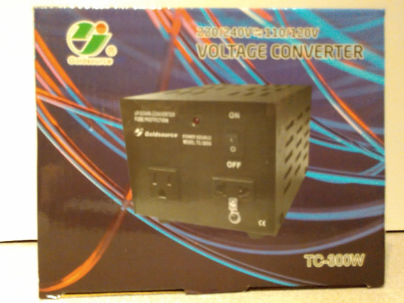 Voltage Up/Down Converter TC-300W (220/240V<=>110/120V)