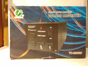 Voltage Up/Down Converter TC-2000W (220/240V<=>110/120V)