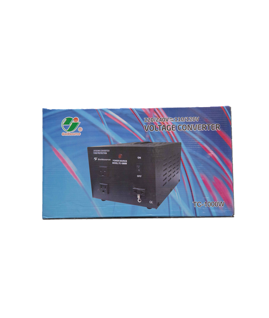VOLTAGE UP/DOWN CONVERTER TC-1000W (220/240V<=>110/120V)