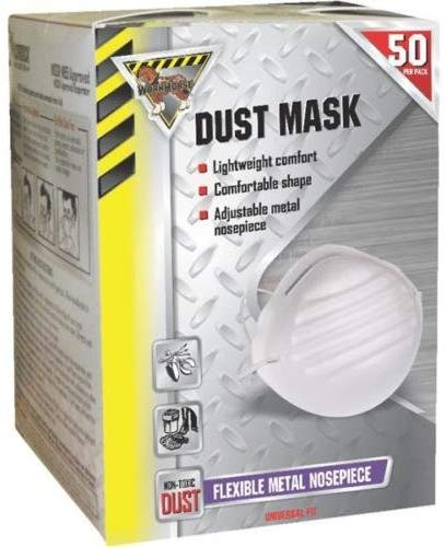 Workhorse McCordick Glove & Safety 50 Pack Dust Mask - 50 Masks