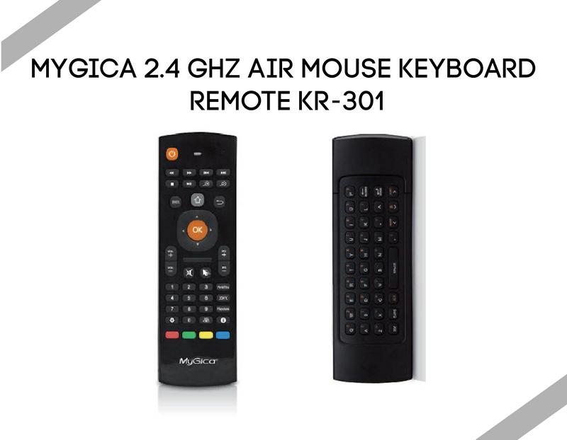 MyGica 2.4 GHz Air Mouse Keyboard Remote KR-301