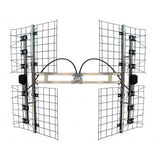 BEST 8HD HI-DEFINITION TV ANTENNA - 80+MI (130+KM), UHF/HIGH-VHF