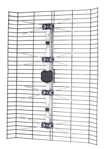 FOCUS 4HD hi-definition TV antenna - 60mi (96km) UHF/high-VHF