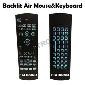 Backlit Air mouse & Keyboard
