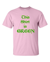 This Shirt is Green v2