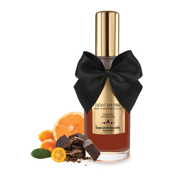 Bijoux Cosmetiques Warming Oil Dark Chocolate
