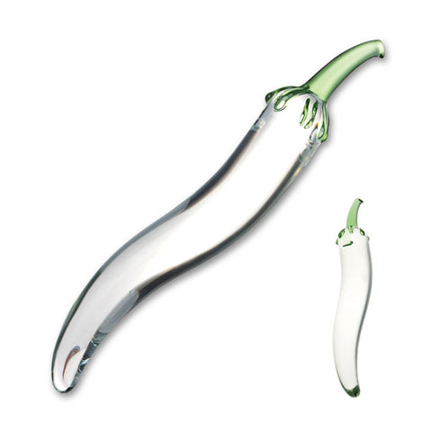 Glas Chili Pepper Glass Dildo