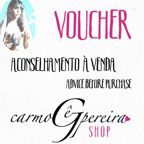 Voucher Aconselhamento à venda - Advice before purchase Voucher