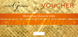 Vouchers WORKSHOPS CARMO GÊ PEREIRA