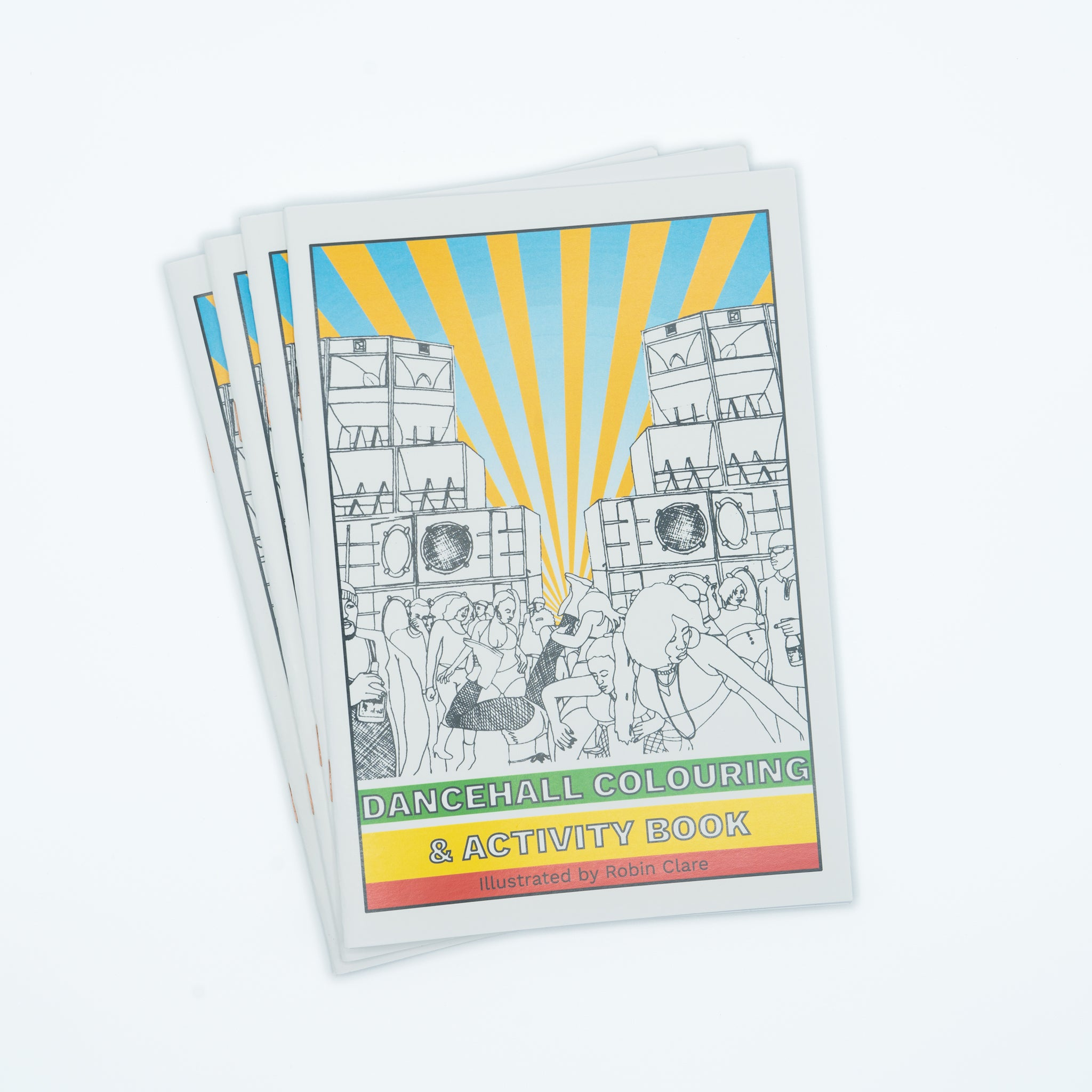 The Dancehall Colouring & Activity Book from Robin Clare