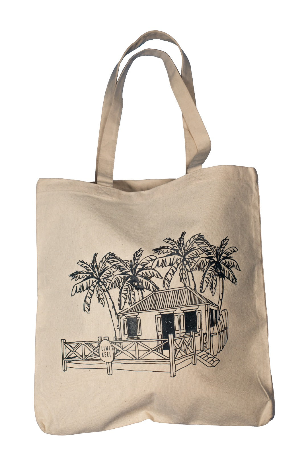 LIME KEEL TOTE BAG