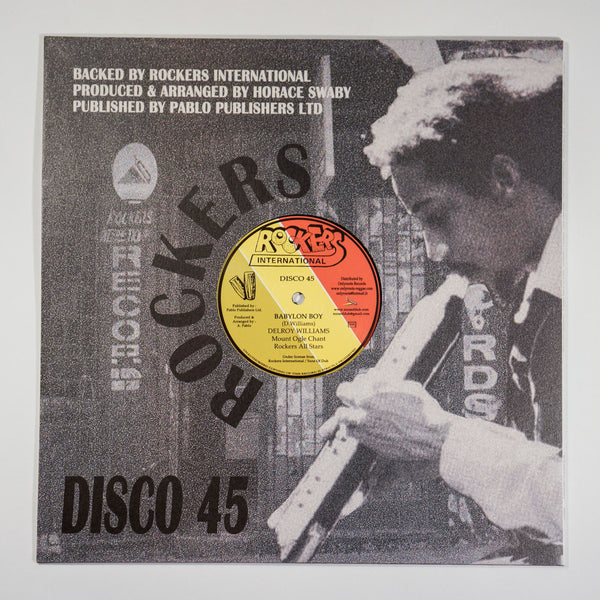 "DELROY WILLIAMS ""THINK TWICE"" B/W ""BABYLON BOY"" (12-INCH RECORD)"