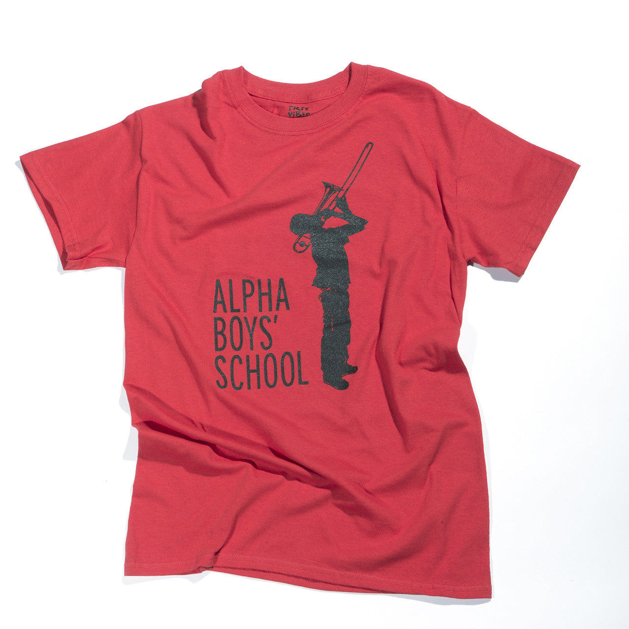 ALPHA BOYS SCHOOL TEE (RED)