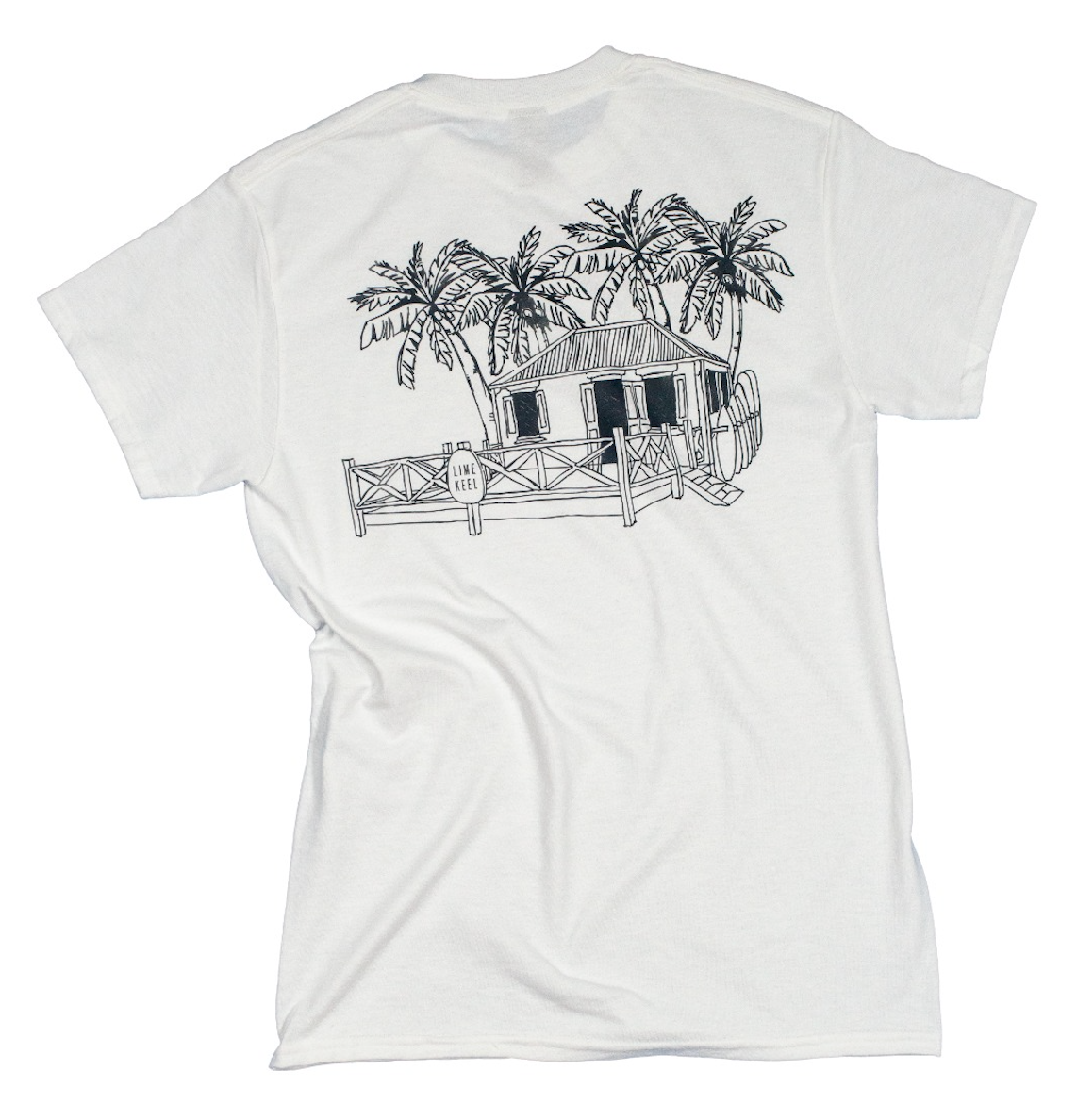 Lime Keel House T-shirt