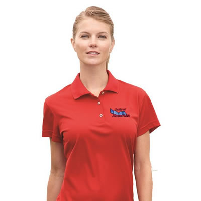 Women's Custom Embroidered Polo Shirts