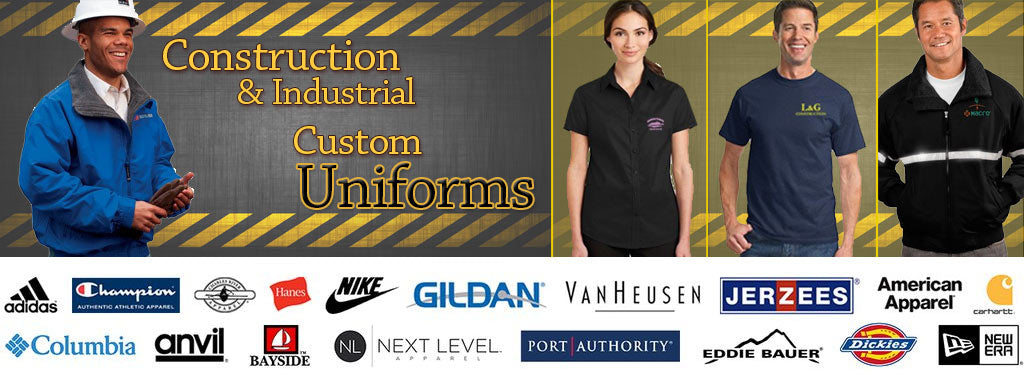 Shop Printed and Embroidered Construction Workwear