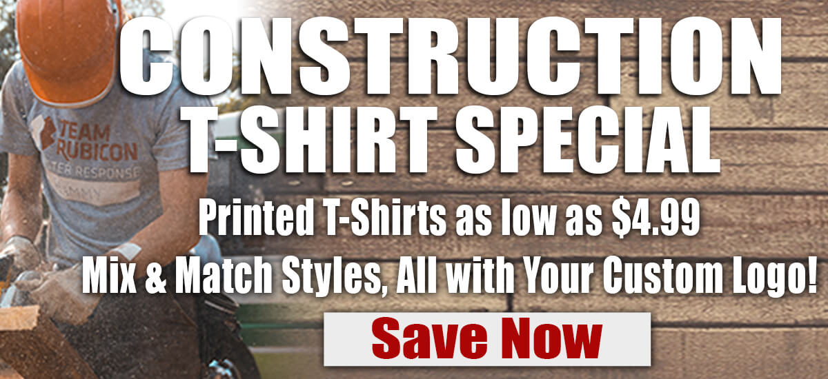 Construction T-Shirt Special