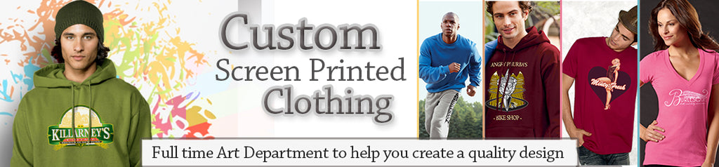 Custom Printed Apparel Options, and Screen Printing Service for Your Corporate Clothing