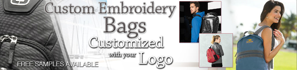 Custom Bags with Embroidered Logo