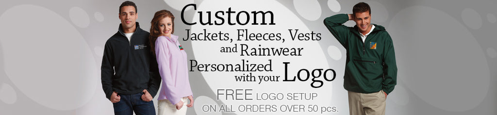 Personalized Embroidered Logo Jackets