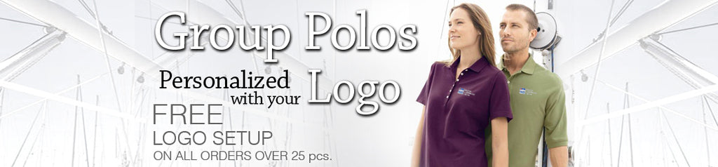 Custom Embroidered Group Polos