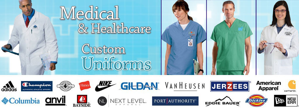 Medical and Healthcare Custom Uniforms