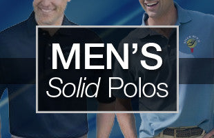 Men's Solid Polos