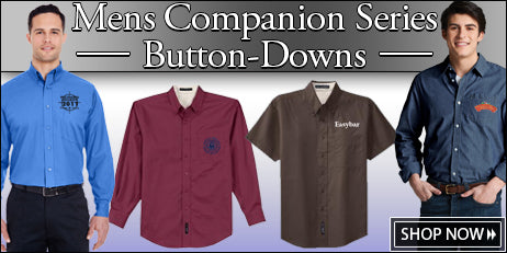 Men's Companion Series Button Down Shirts