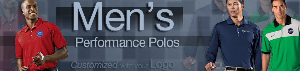 Men's Performance Corporate Polos