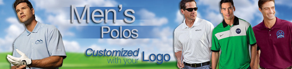 Men's Embroidered Corporate Polos