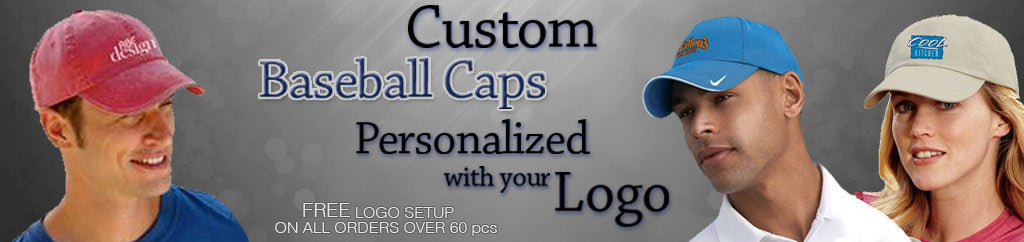 Custom Baseball Caps with Your logo