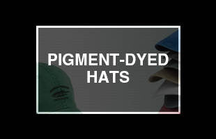 Pigment Dyed Hats