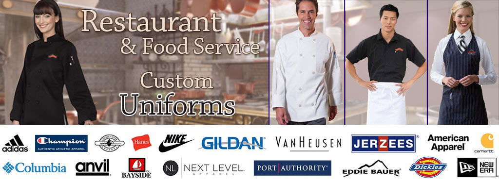 Restaurant and Food Service Custom Uniforms
