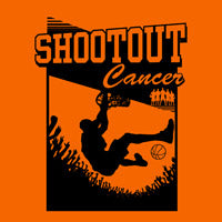 Shoot Out Cancer Custom Printed Logo