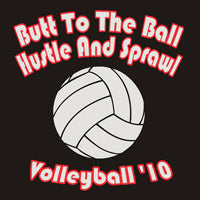 Volleyball Custom Printed Logo