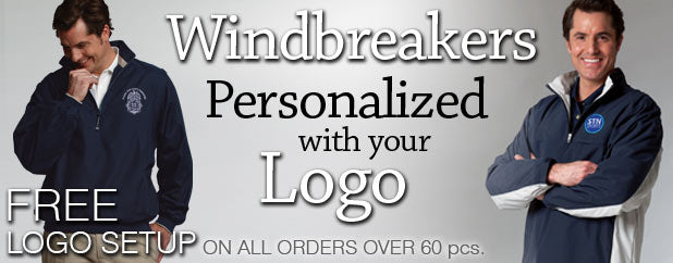 Personalized Windbreaker Jackets Embroidered Men&39s Ladies
